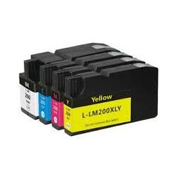 32ML Yellow for Lexmark Pro4000C Pro5000T-1.6K14L0200